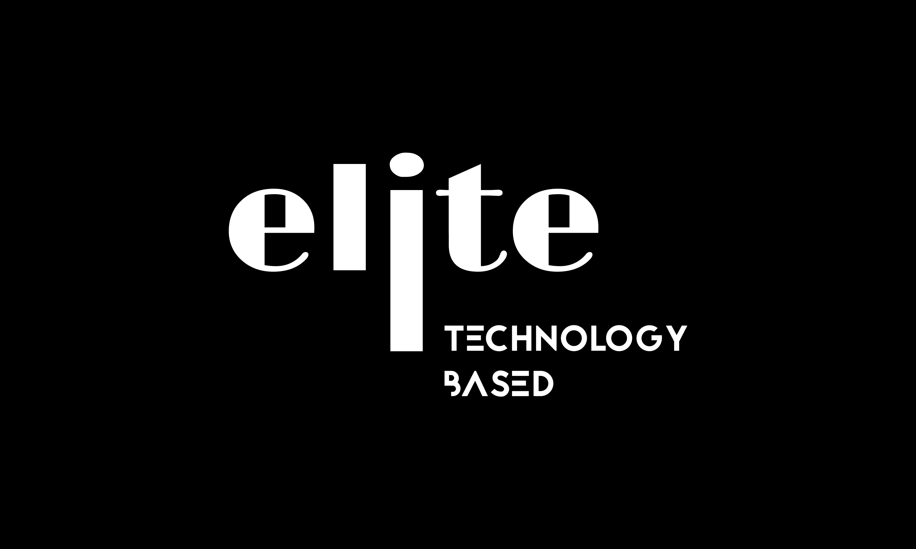 elite logo black